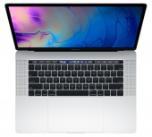 "Ноутбук Apple MacBook Pro 15"" Retina and Touch Bar 2018 MR972 (Intel Core i7 2600 Mhz/15.4""/2880x1800/16Gb/512Gb SSD/AMD Radeon Pro 555X 4Gb/Silver)"